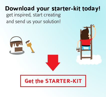 Download your starter-kit and send us your solution!